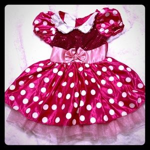 🍁3 for $20🍁 Kids Pink Mini Mouse Dressup Dress